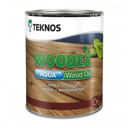 Текнос WOODEX AQUA WOOD OIL террасное масло на водное основе 0,9 л.