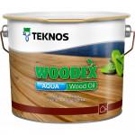 Текнос WOODEX AQUA WOOD OIL террасное масло на водное основе 2,7 л.