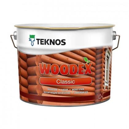 Текнос WOODEX CLASSIC лессирующий антисептик 9 л.