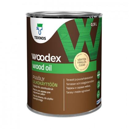 Текнос WOODEX WOOD OIL террасное масло 0,9 л.