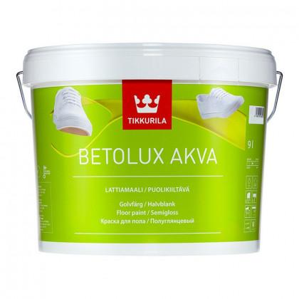 Тиккурила BETOLUX AKVA краска для полов 2,7 л.