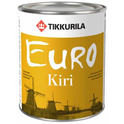 Тиккурила Лак паркетный EURO KIRI  п/мат 0,9 л.