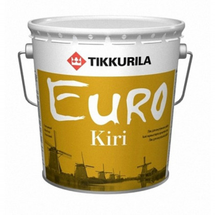 Тиккурила Лак паркетный EURO KIRI  п/мат 2,7 л.