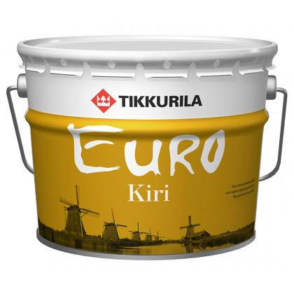 Тиккурила Лак паркетный EURO KIRI  п/мат 9 л.