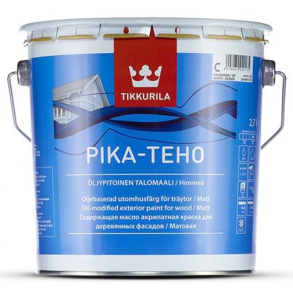 Тиккурила Фасадная краска для деревянных домов PIKA-TEHO мат. 2,7 л.