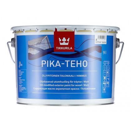 Тиккурила Фасадная краска для деревянных домов PIKA-TEHO мат. 9 л.