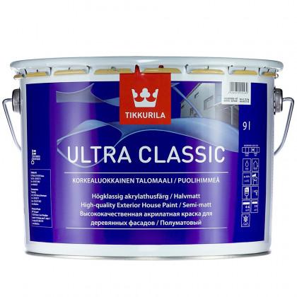 Тиккурила Фасадная краска для деревянных домов ULTRA CLASSIC п/мат 9 л.