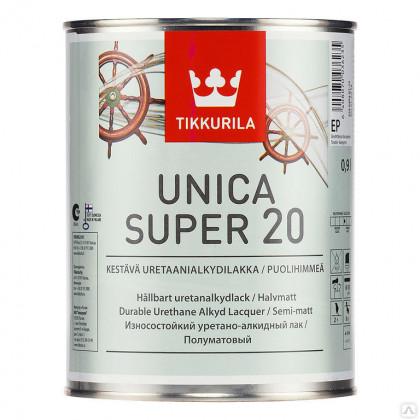 Тиккурила Лак универсальный UNICA SUPER 20 п/мат 0,9 л.