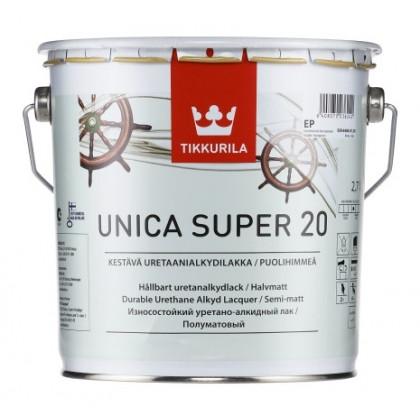 Тиккурила Лак универсальный UNICA SUPER 20 п/мат 2,7 л.