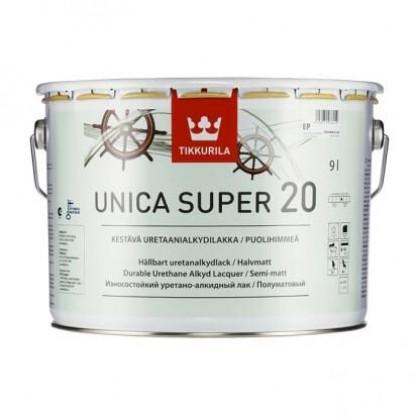 Тиккурила Лак универсальный UNICA SUPER 20 п/мат 9 л.