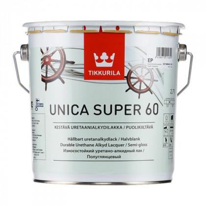 Тиккурила Лак универсальный UNICA SUPER 60 п/гл 2,7 л.