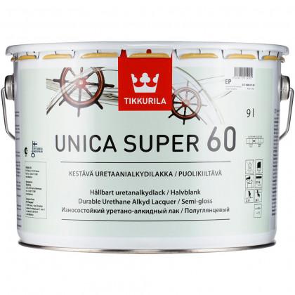 Тиккурила Лак универсальный UNICA SUPER 60 п/гл 9 л.