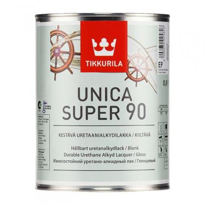 Тиккурила Лак универсальный UNICA SUPER 90 в/гл 0,9 л.