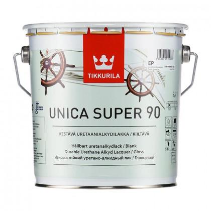 Тиккурила Лак универсальный UNICA SUPER 90 в/гл 2,7 л.
