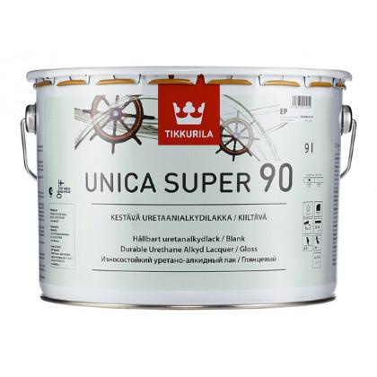 Тиккурила Лак универсальный UNICA SUPER 90 в/гл 9 л.