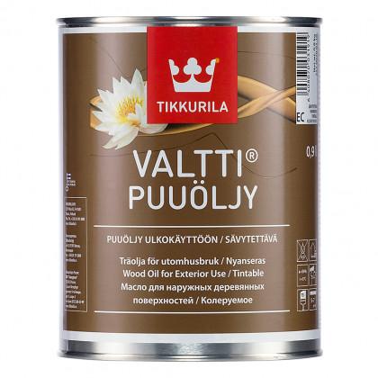 Тиккурила Масло для дерева VALTTI PUUOLJY  0,9 л.