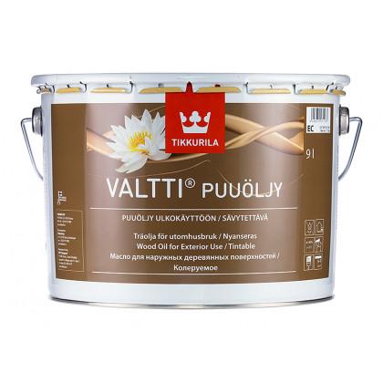 Тиккурила Масло для дерева VALTTI PUUOLJY  9,0 л.