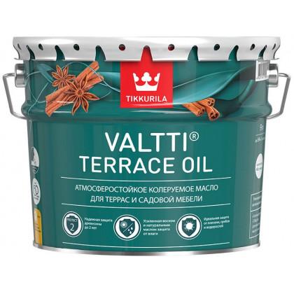 Тиккурила Масло для террас VALTTI TERRACE OIL 9 л.