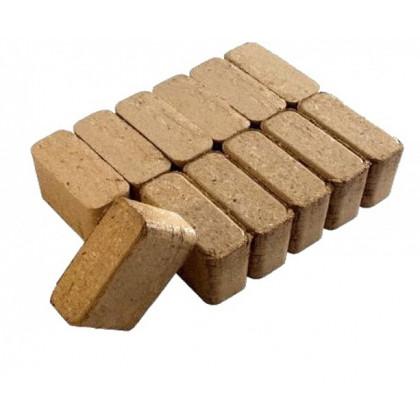 Топливные брикеты БЕРЕЗА (ЩЕПА) RUF, упаковка 9 кг, 9 шт.