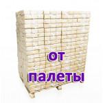 Топливные брикеты БЕРЕЗА (ПЫЛЬ)  RUF ПРЕМИУМ 1 поддон / 96 уп. / 960 кг