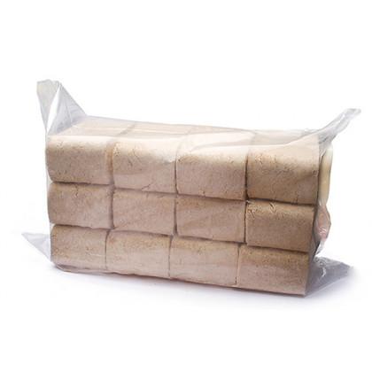 Топливные брикеты БЕРЕЗА (ПЫЛЬ) , упак. 10 кг/12 шт.