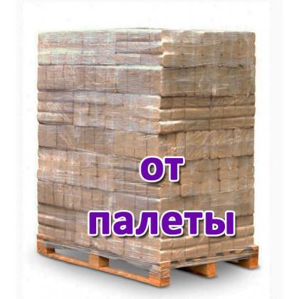 Топливные брикеты БЕРЕЗА (ЩЕПА) RUF, 1 поддон / 102 уп. / 918 кг