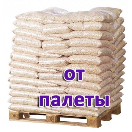 Пеллеты топливные светлые 6 мм (хвоя, мешок 15 кг) 1 поддон / 65 уп. / 975 кг