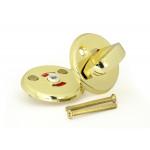 Завёртка сантехническая wc металлическая золото