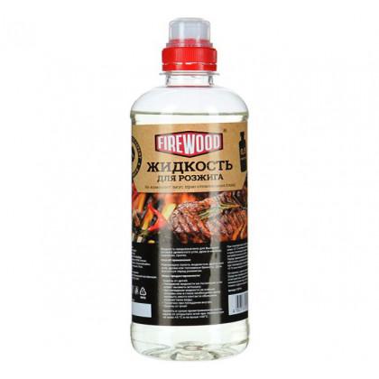 Жидкость для розжига 1 л FIRE WOOD