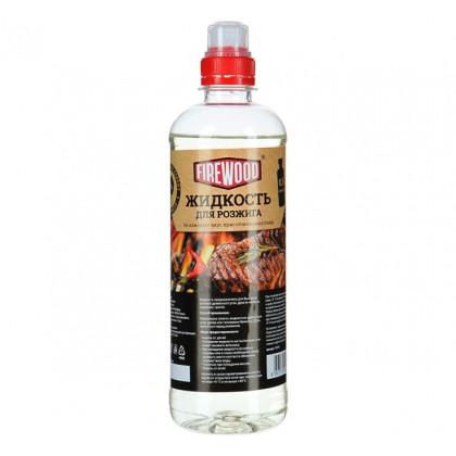 Жидкость для розжига 500 мл FIRE WOOD
